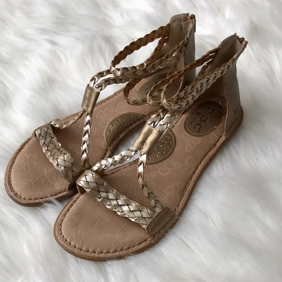 06d587de3b1 b.o.c. Shoes - b.o.c. by Born Macedonia Sandal Gold and Champagne